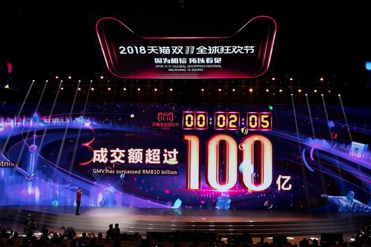 Kỷ lục của Alibaba trong Ngày Độc thân 11/11/2018