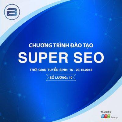 Chương trình đào tạo Super Seo