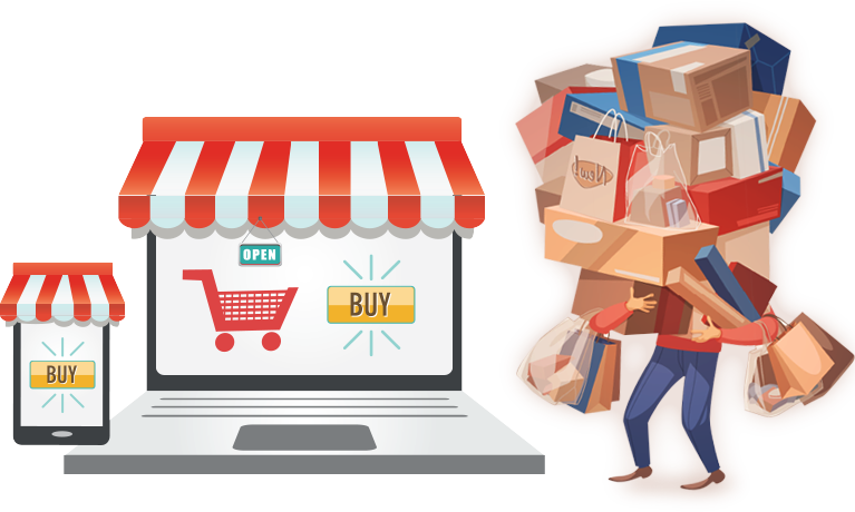 kinh doanh cửa hàng tạp hóa Online