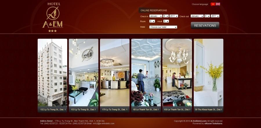 Bí quyết thiết kế Website cho khách sạn để nâng tầm thương hiệu