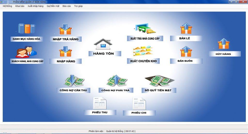 Phần mềm quản lý bán hàng quản lý hiệu quả các nguồn lực