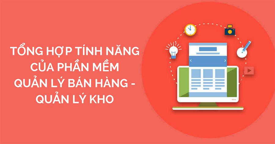 Phần mềm quản lý bán hàng Bpos được tích hợp nhiều tính năng.