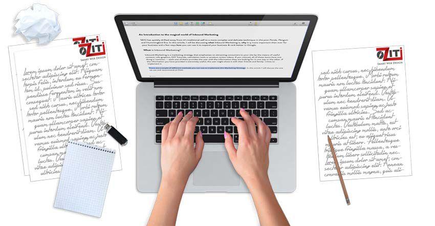 Yếu tố nội dung website