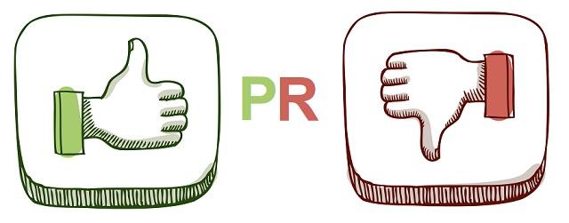 Ưu và nhược điểm của PR.
