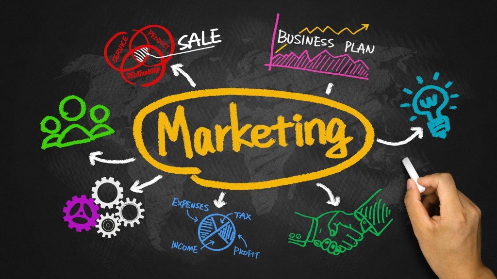 Lên kế hoạch marketing - quảng bá sản phẩm.