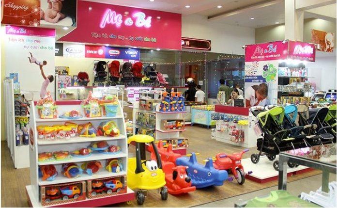 Kinh doanh cửa hàng bán đồ sơ sinh và trẻ nhỏ.