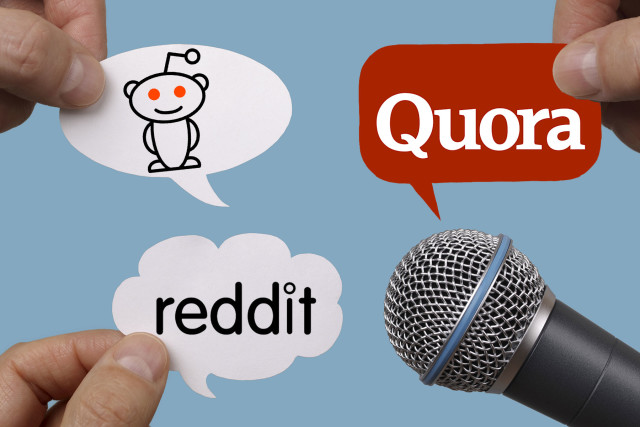 Image result for reddit and quora